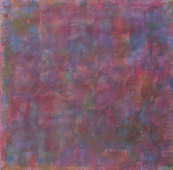 b211-Kaleidoskop,40x40x4cm, Acryl auf Leinwand, 2003