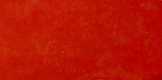 b213-Swinging red ,80x40x4cm, Acryl auf Leinwand, 2003