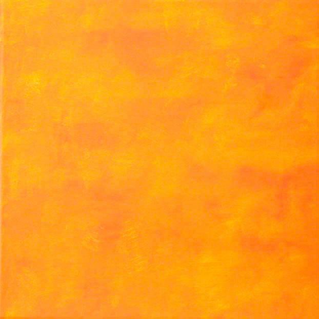 b221-O.T. Verlauf,40x40x4cm, Acryl auf Leinwand, 2004