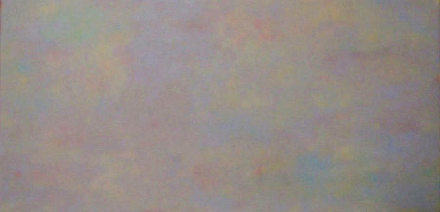 b238-Hiding in gray, 80x40x4cm,, Acryl auf Leinwand,2004